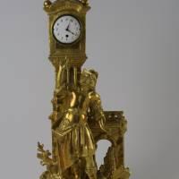 Klasicistní figurální hodiny, dat. 1771