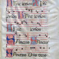 Antiphonary, parchment, Italy, 15. century