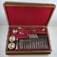 Stříbrné příbory pro 12 osob, J. C. Klinkosch
