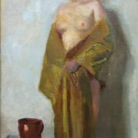 Luvík Kuba (1863 - 1957) - Lužickosrbská madona