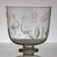 Alfred Dorn - Váza ve stylu art deco